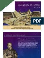 Conquista Del Imperio Azteca PDF