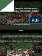 """Yammine - Fundación Yammine Realizó Segunda Edición Del Torneo """"Sembrando Futuro"""""""