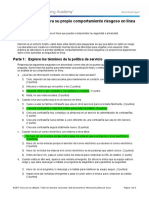 3.2.2.3 Lab - Discover Your Own Risky Online Behavior -RESUELTO .pdf