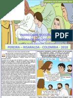 HOJITA EVANGELIO NIÑOS DOMINGO XXVI TO B 18 COLOR