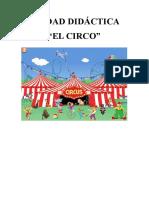 Unidad didáctica infantil El Circo