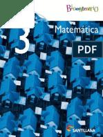 Matemática 3º Añó Medio Santillana Bicentenario