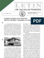 Boletín Villas Pasiegas - Museo