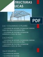 2.4 Estructuras Metalicas