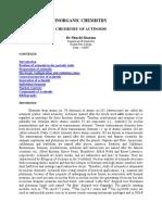 Chemistry of Actinoids
