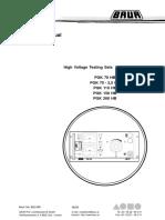 PGK70 HB Manual