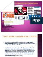 Franchising Business Model- Ratnendu Final