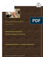 HR Summit Corporate Invitation