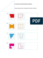 identificar transformaciones isometricas