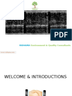 RIDHAMA ISO Introduction