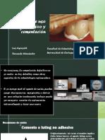 Cementos de Uso Odontológico y Cementación