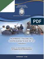NormasTecnicasHidrograficasN°27_Determinacion de profundidad