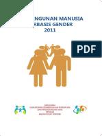 4ac48 Pembangunan Manusia Berbasis Gender 2011