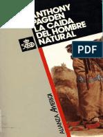 2 Pagden 1988 La Caida Del Hombre Natural