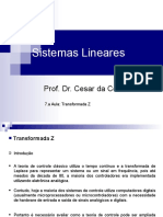 7.a Aula_Sist. Lineares_Transformada Z.ppt