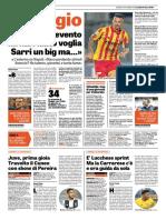 La Gazzetta Dello Sport 28-09-2018 - L'Intervista
