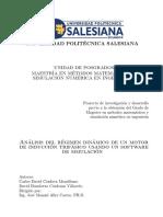 Analisis Del Regimen Dinamico Del Motor de Induccion