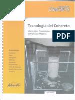 Tecnologia Del Concreto Tomo 1 DISEÑO de MEZCLAS