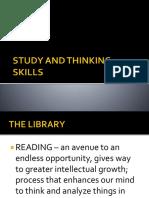 Study and Thinking Skills