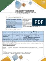 Guía de Actividades y Rúbrica de Evaluación - Fase 2 - Actividad de Profundización