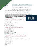 A Asamblea Constituyente Sesionará en La Casona de Xicoténcatl