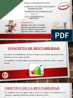 Rentabilidad y Utilidad - Diapositiva