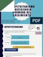 Hipopituitarismo y Deficiencia Hormona Del Crecimiento