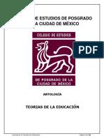 Antología_teorias de La Educación