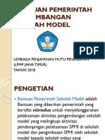 juknis Bantah Sekolah Model