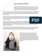 Rancangan-rancangan Tas Rajut Teraktual