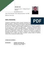 Hoja de Vida 2018 PDF