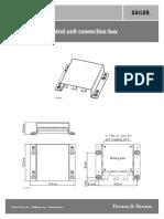 Installation Guide Sailor 6208 Control Unit Conn Box
