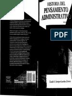 02 Historia Pensamiento Administrativo