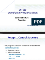 Lecture 4 -Repetition (Extra Notes)