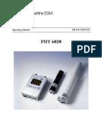 FHT6020 Operating Manual Db-045e