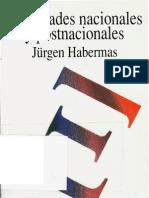 Habermas Jurgen Identidades Nacionales y Postnacionales 1989