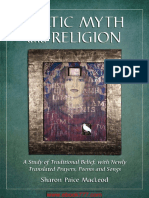 Celtic Myth and Religion- A Study of Traditional Belief, With Newly Translated Prayers, Poems and Songs