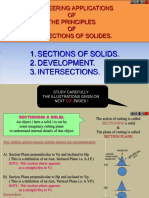 Sections of Solids & Development of Surface[1]