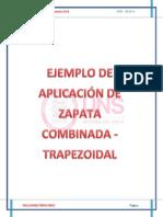 Zapatas-combinadas Ejemplo Trapezoidal