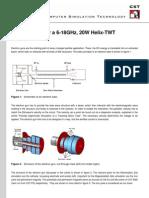 Electron Gun for a 6-18GHz, 20W Helix-TWT Amplifier
