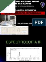 Semana N°6. Espectroscopía IR- Espectros 2018 II