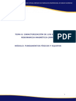 Caracterizacion Equipos Resonancia Magnetica