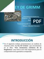 LA LEY DE GRIMM