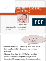 Pemeriksaan Fisik Bayi Baru Lahir (Bbl) Ppt