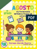 Agosto - 1er Grado Artes (2018-2019)