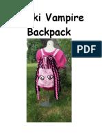Vikki Vampire Backpack