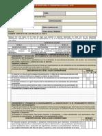 Ficha de Monitoreo (Rubricas)