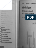 Semiotique II - Greimas e Courtes