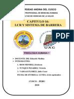 Capitulo 16, Lcr y El Sistema de Barreras