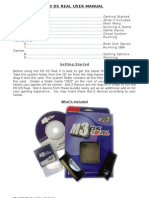 M3G6 DS Real User Manual Oct15